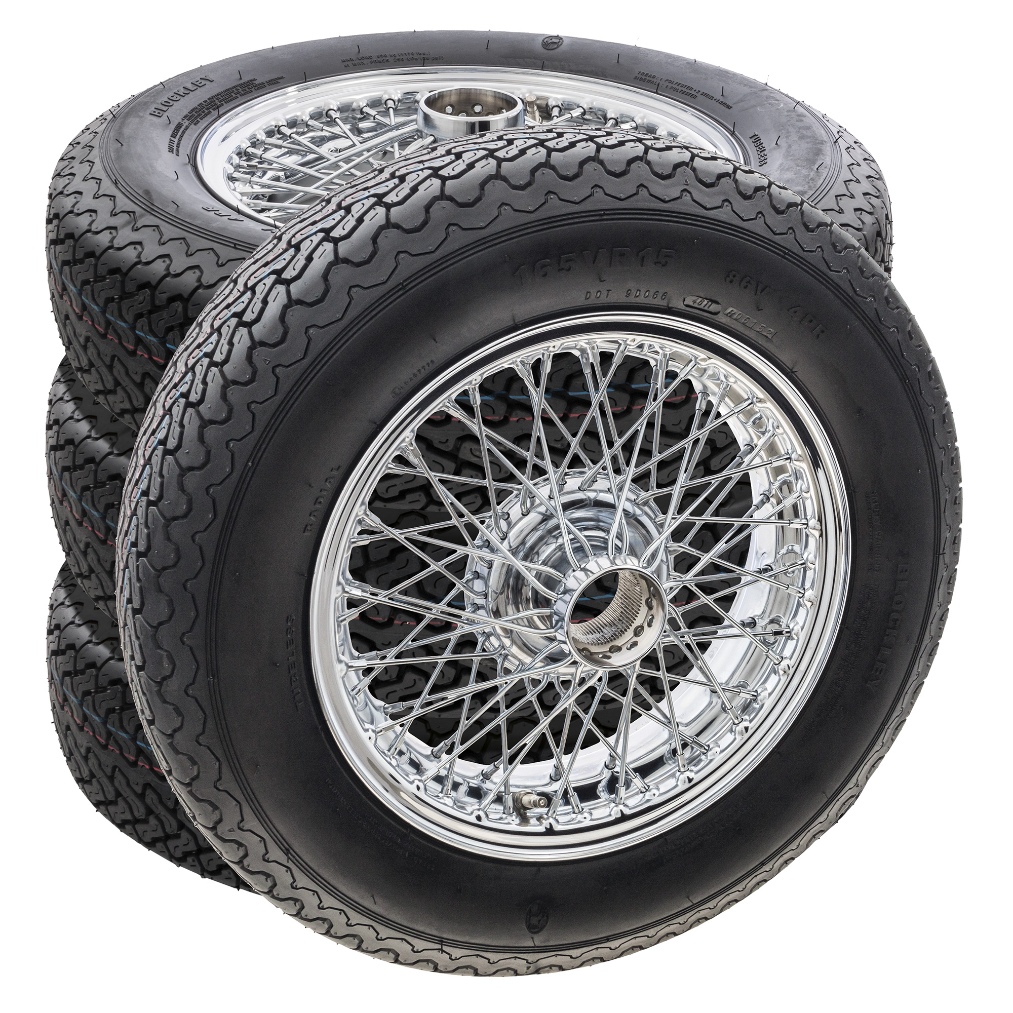 MWS Wire Wheel & Tyre Sets
