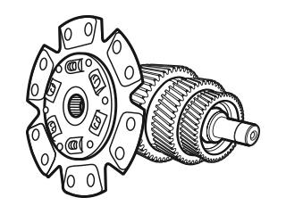 Clutch, Gearbox & Axle