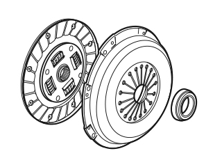 Clutch, Gearbox & Axle
