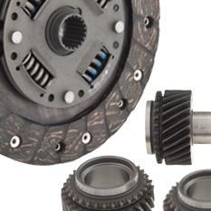 Clutch, Gearbox & Drivetrain