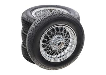 MWS Wire Wheel & Tyre Sets