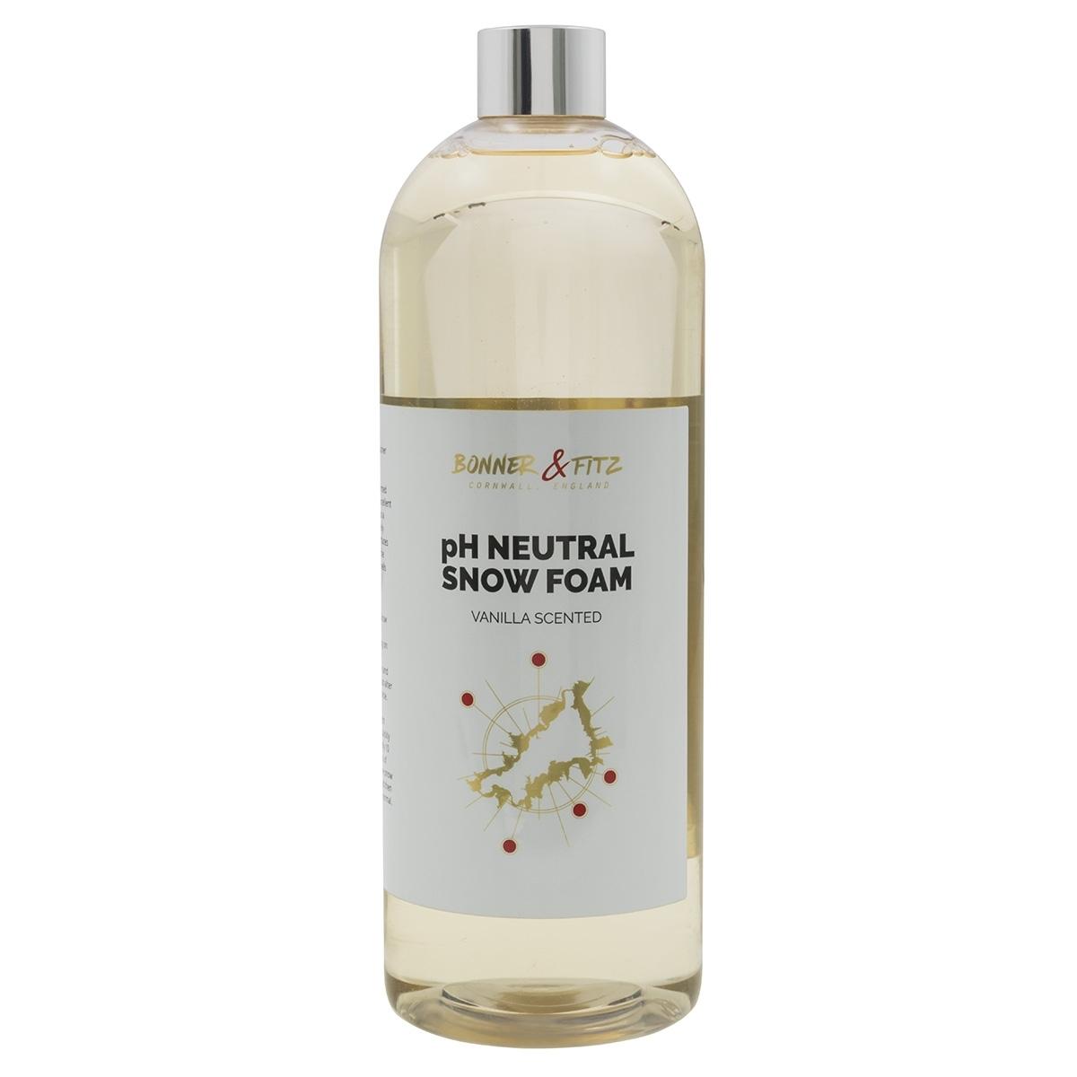 Snow Foam Shampoo 1l Vanilla Scent Bonner Fitz Ph Neutral Gentle Wash Ebay