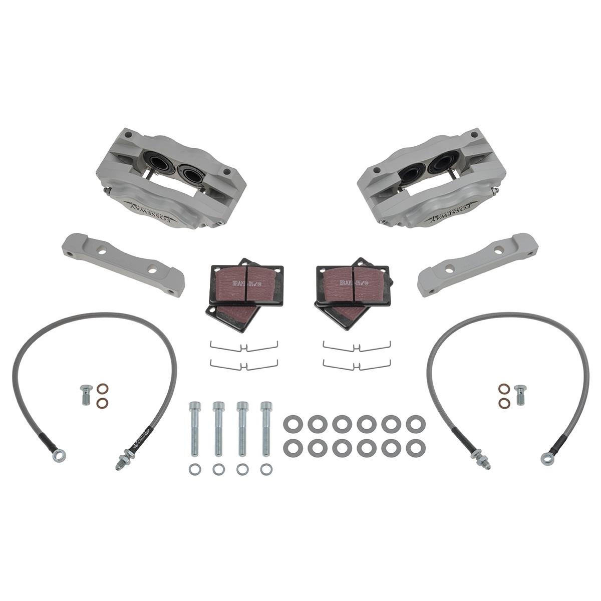 JAGUAR DAIMLER FRONT BRAKE DISCS /& PADS FIT XJ6 SERIES 1