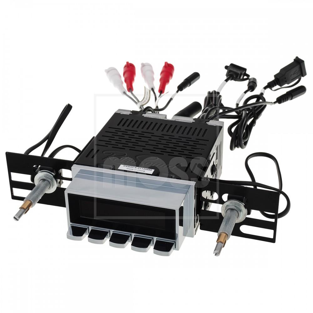 RetroSound Radio, Model 2, chrome