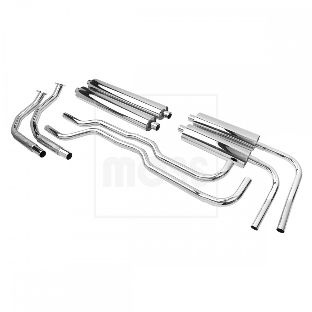 Exhaust System, Tourist Trophy, stainless steel