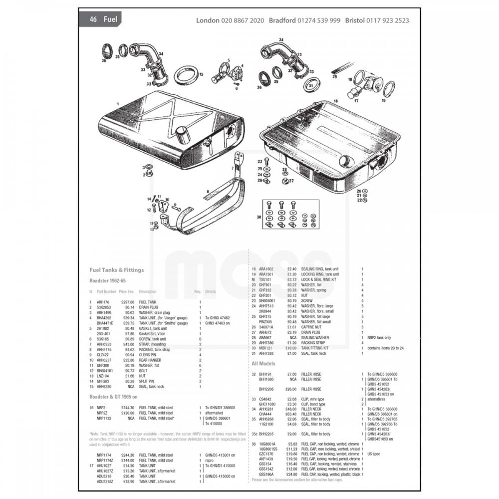 mazda 6 parts catalogue uk