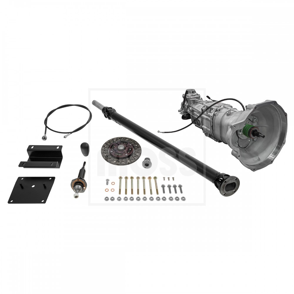 Five Speed Mazda Gearbox Conversion For MGB