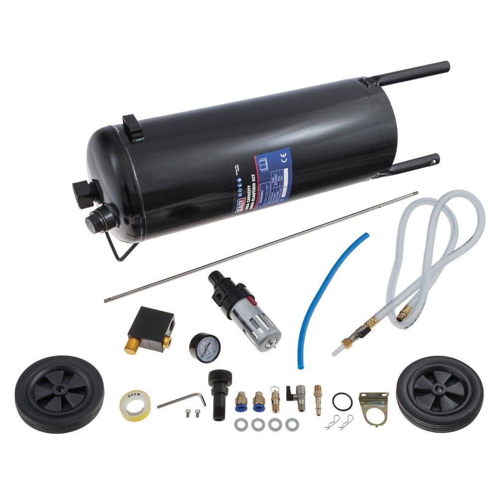 Sealey PSB40 18kg Capacity Portable Soda Blasting Kit