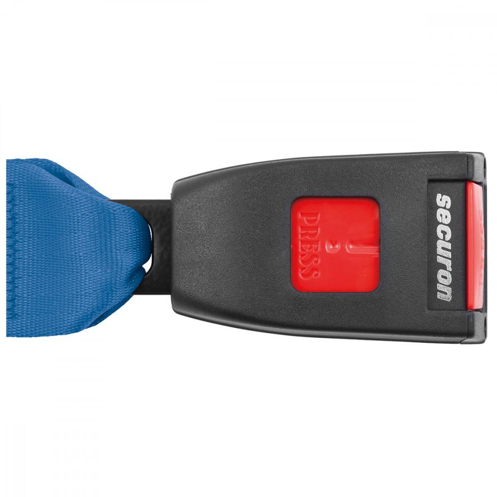 Auto Lap /& Diagonal Black 254 SECURON Seat Belt