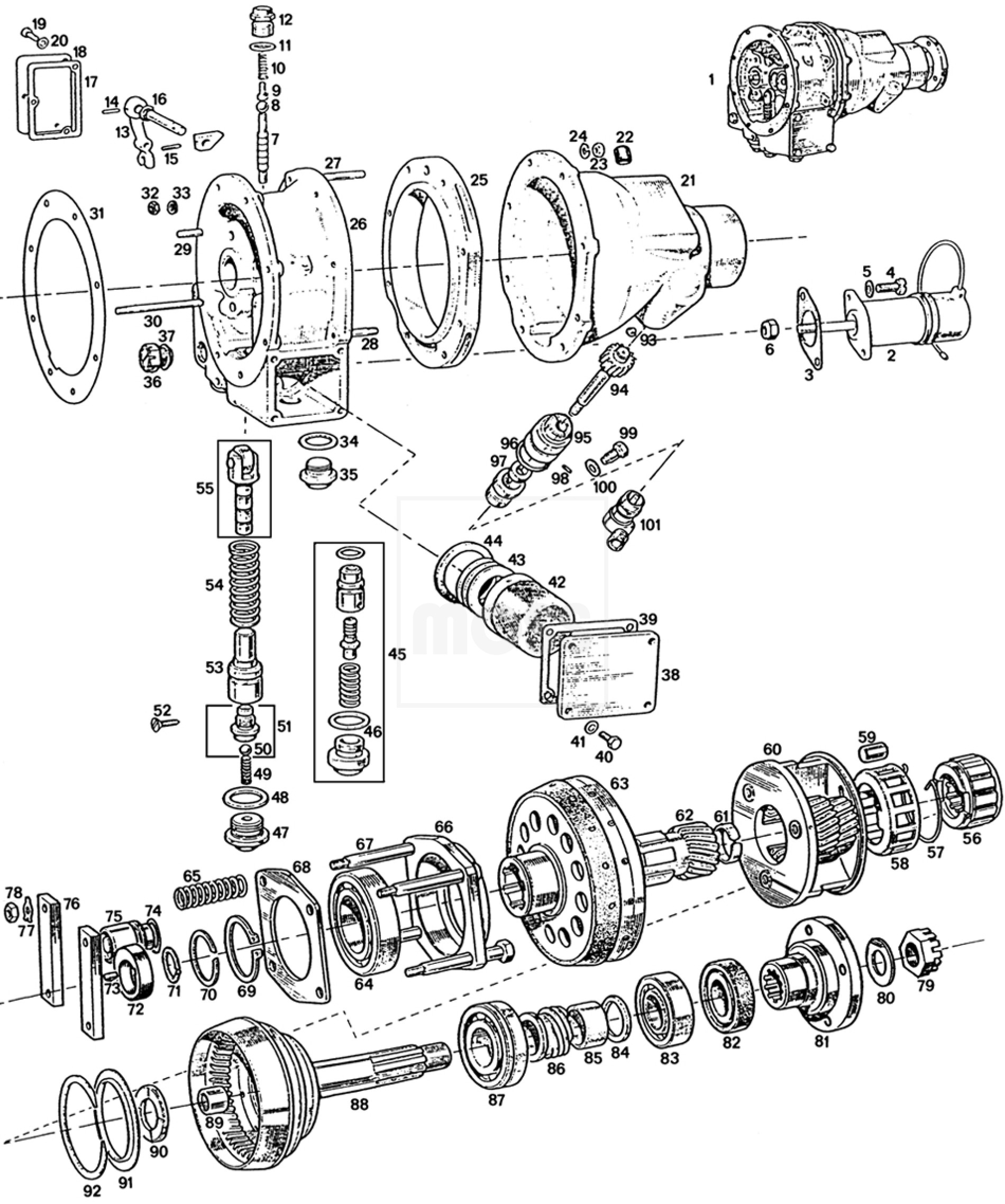 austin healey 3000 bj8 wiring diagram