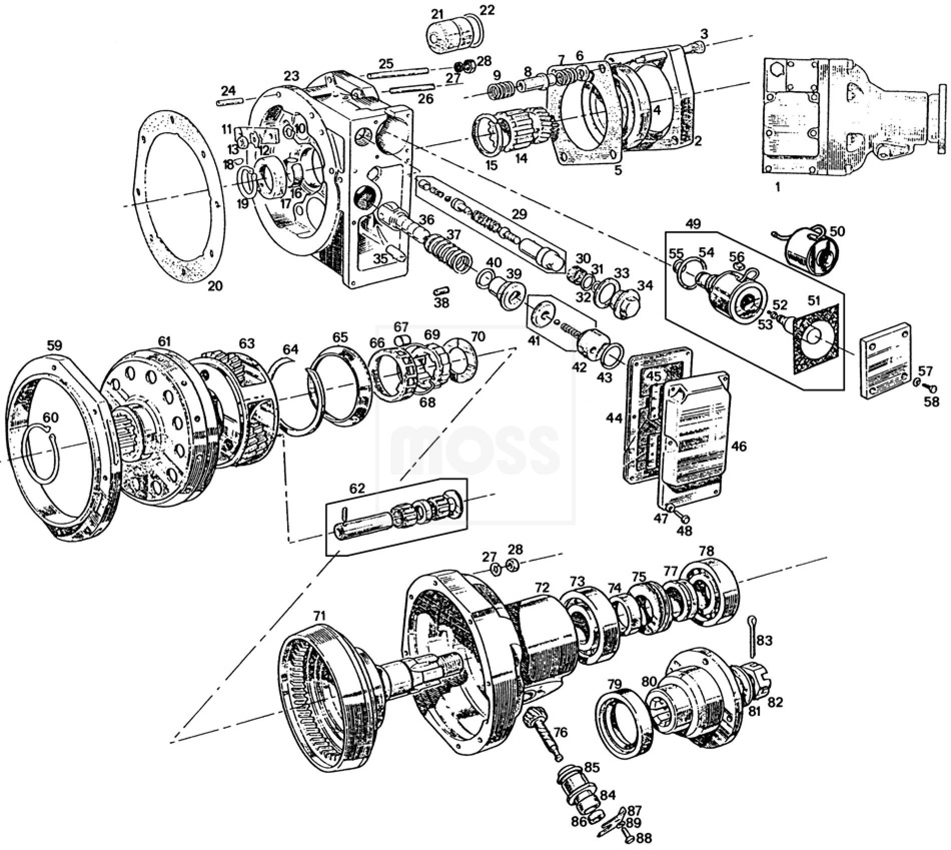 mgb starter wiring diagram