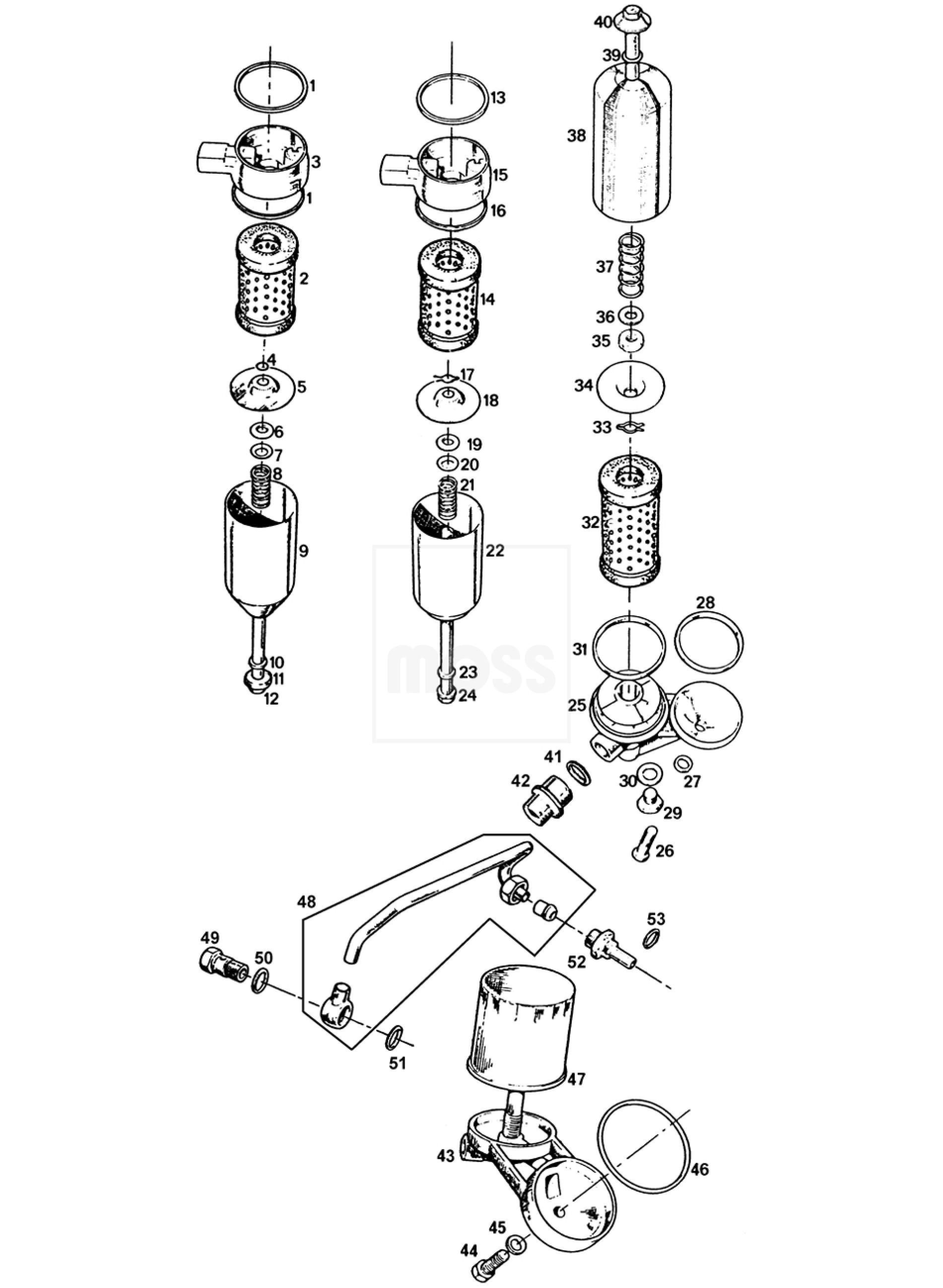 oil filter  u0026 mountings
