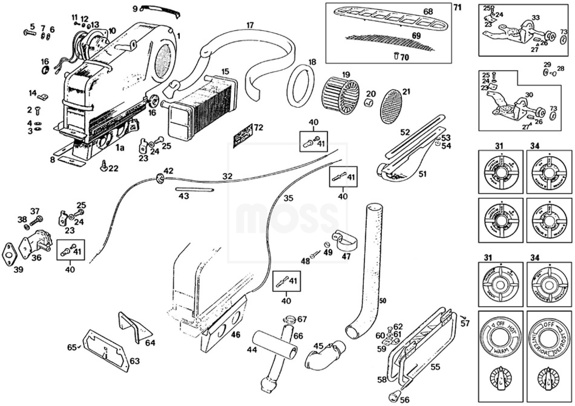 heater unit  u0026 demister system