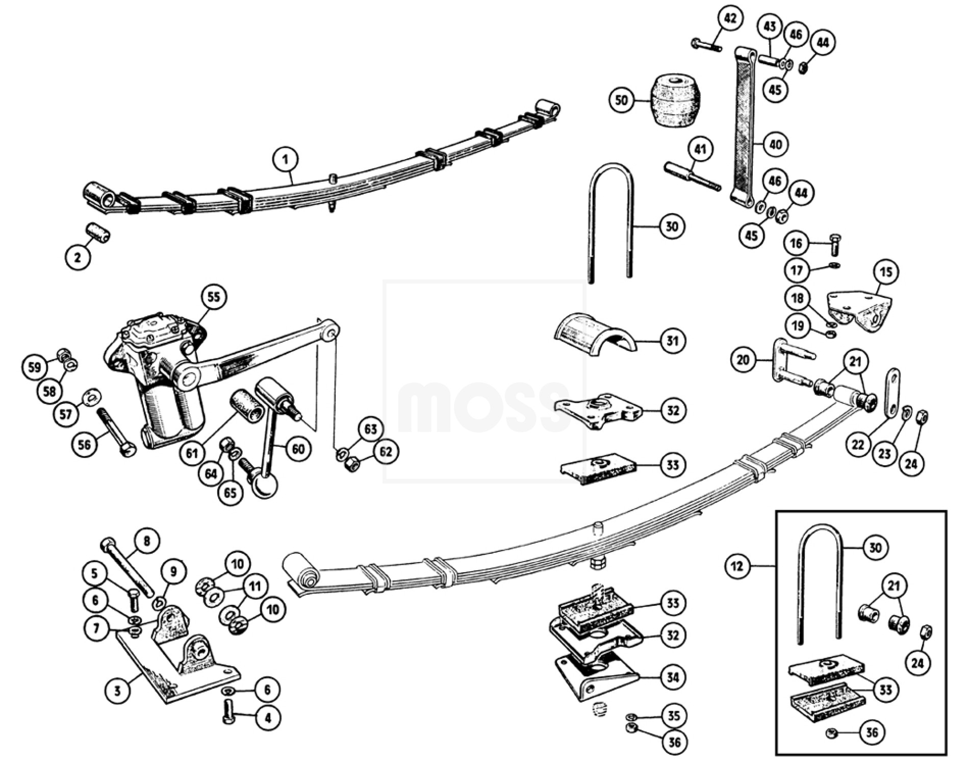 Full Wiring Diagram 1960 Austin Healey