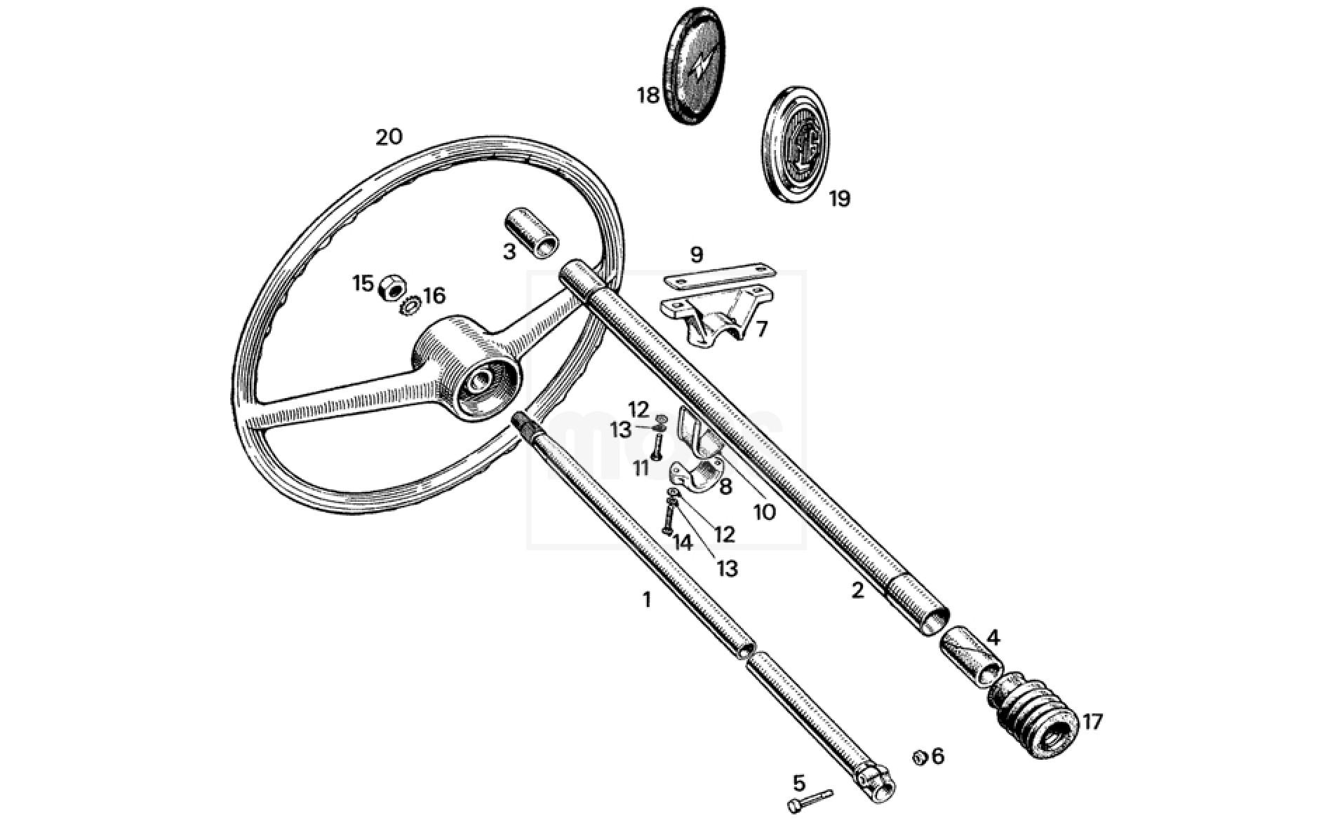 steering column  u0026 wheels