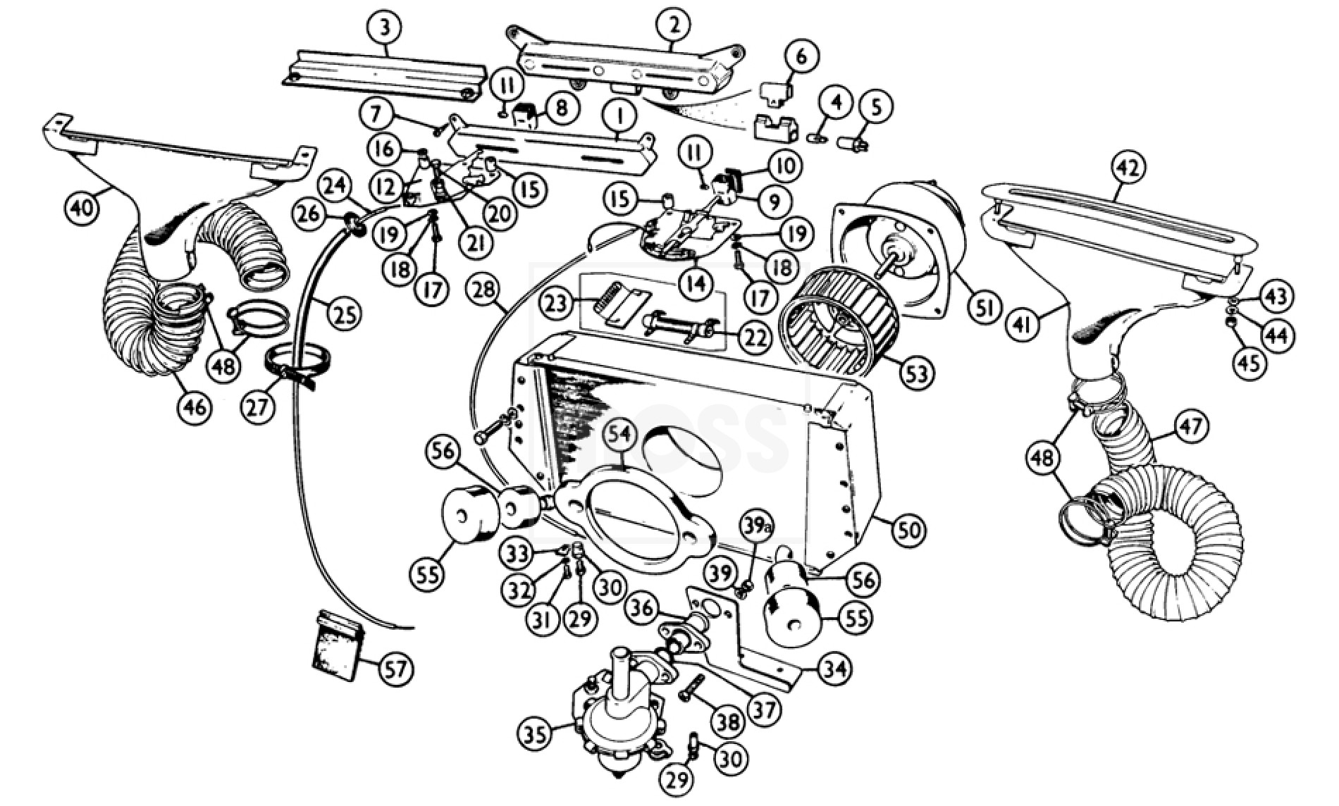 mgb engine diagram transmission
