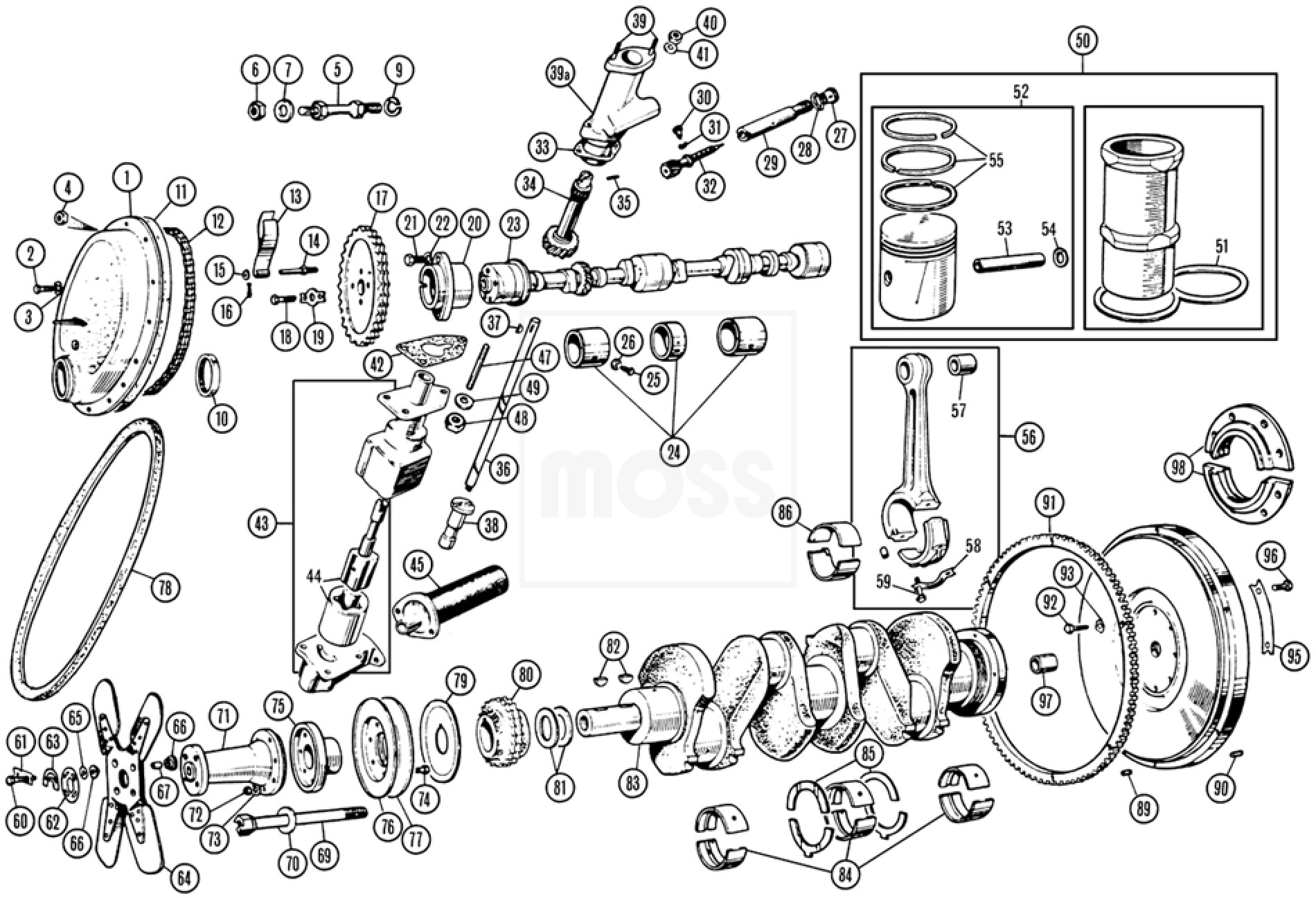 internal engine components  tr2