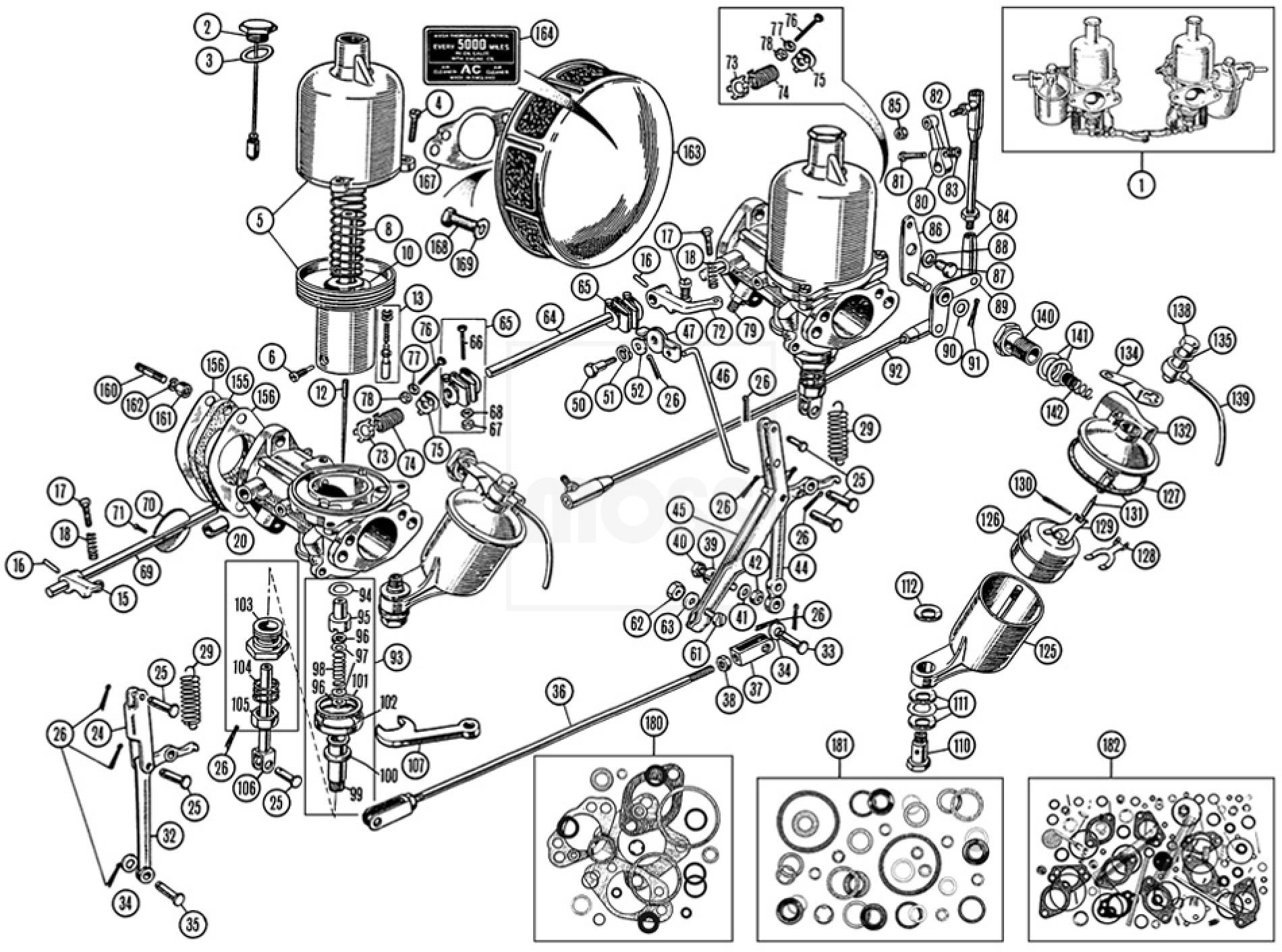 Zylinderkopfdichtung Ajusa VOLVO B 10 F 10 F 80 45843