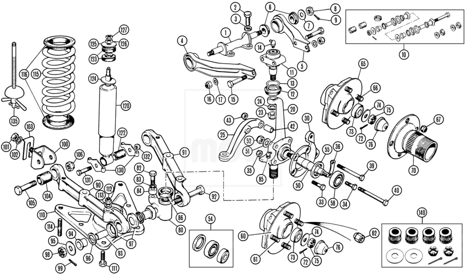 03 jaguar x type rear suspension