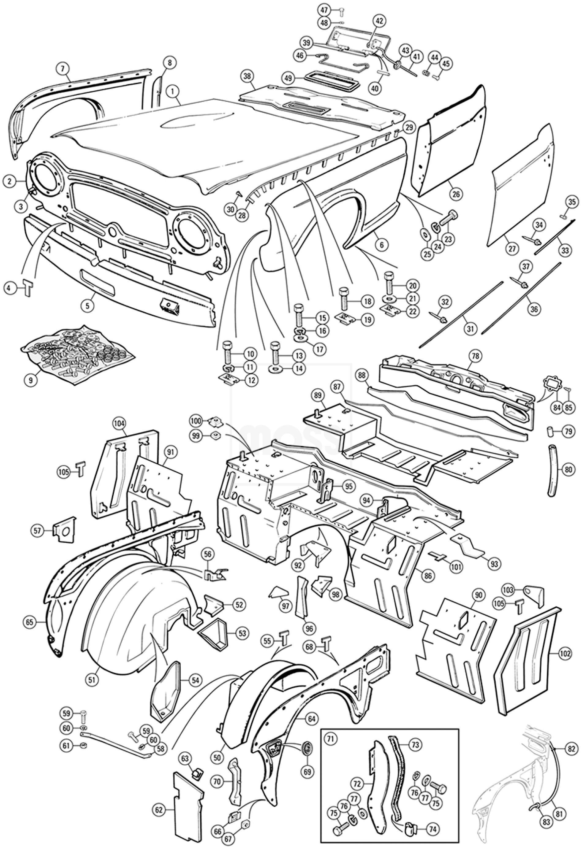 Sujet391725 2555 moreover Buick Lacrosse 2 4 2002 Specs And Images as well Fuse Panel Diagram Gmc Wiring Schemes moreover 1996 Buick Roadmaster Timing Cover Gasket Replacement together with Diagrsm 1999 Buick Regal Fuse Box. on 85 buick park avenue