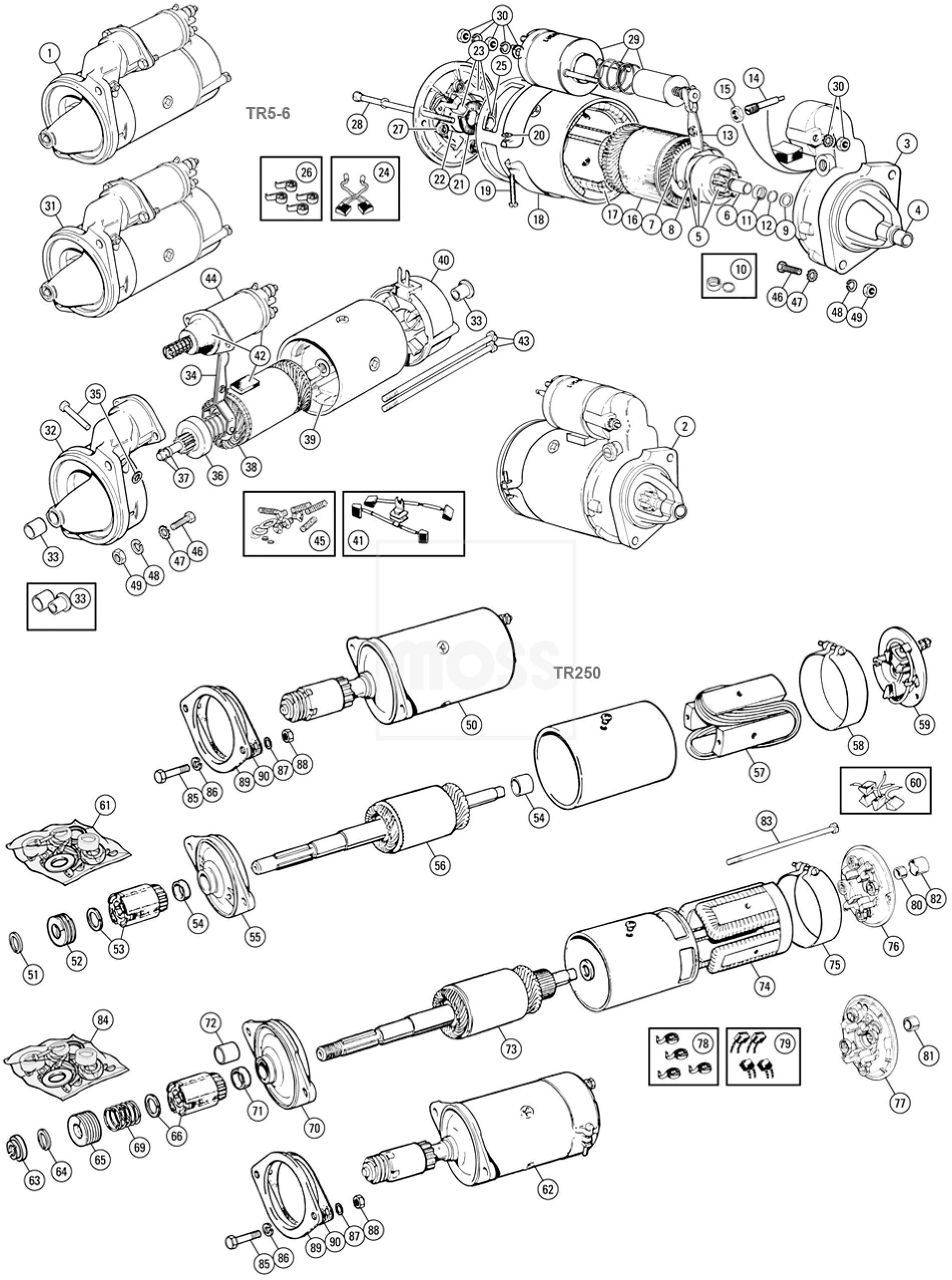 austin healey sprite parts catalog