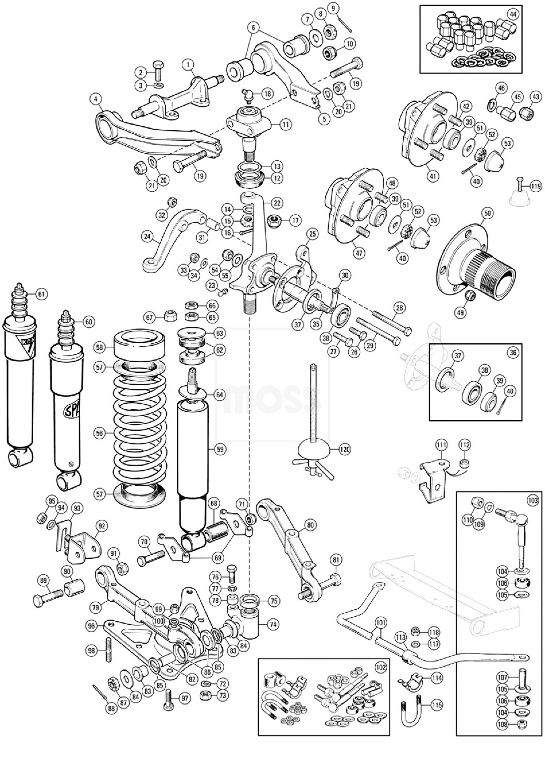 2004 lincoln ls parts catalog