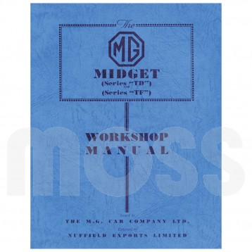workshop manual mg td tf rh moss europe co uk 1953 mg td workshop manual MG TC