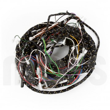 74 mgb wire harness mgb wiring harness diagrams wiring harness, complete loom, smiths gauges, positive ...