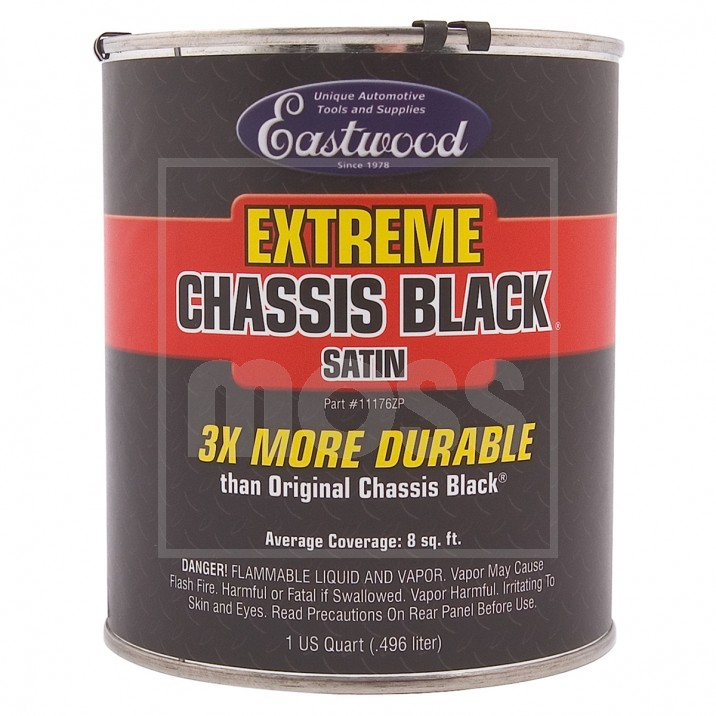 Eastwood Chassis Black, Extreme, Satin, Quart 946ml