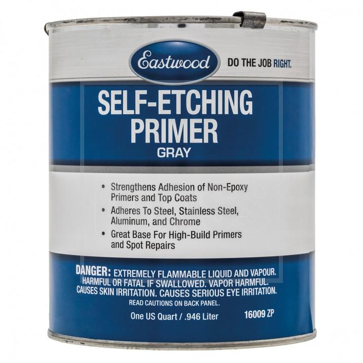 Self-Etch Primer, Grey, Quart 946ml