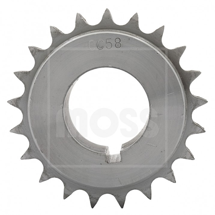 Gear, crankshaft chain wheel