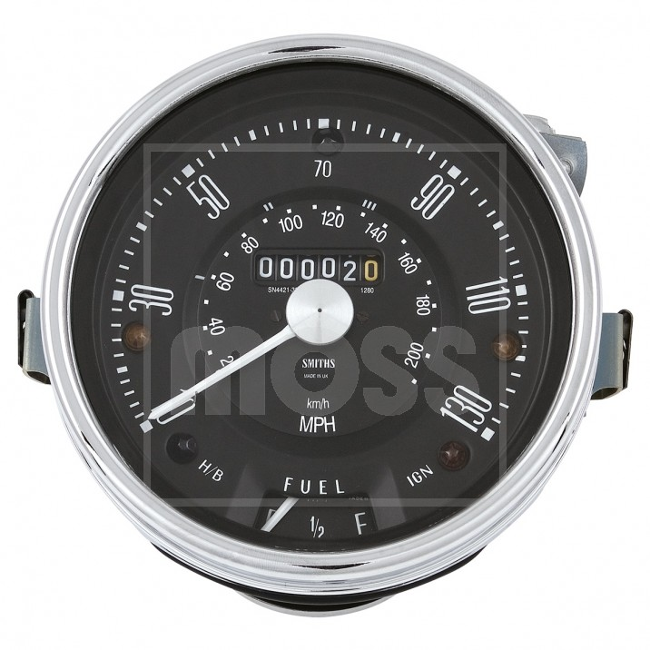 Centre Binnacle Speedo & Gauges