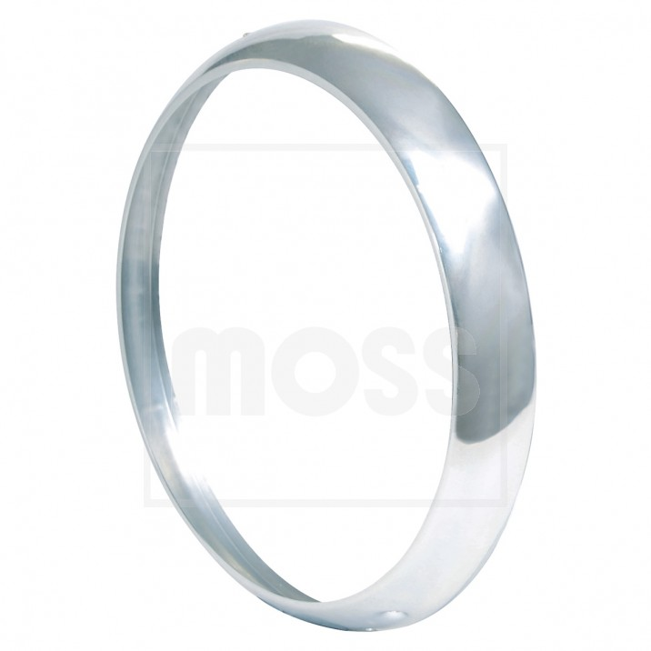 Headlamp Rim, aluminium, each
