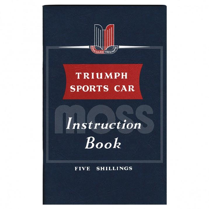 Owners Handbook, TR2