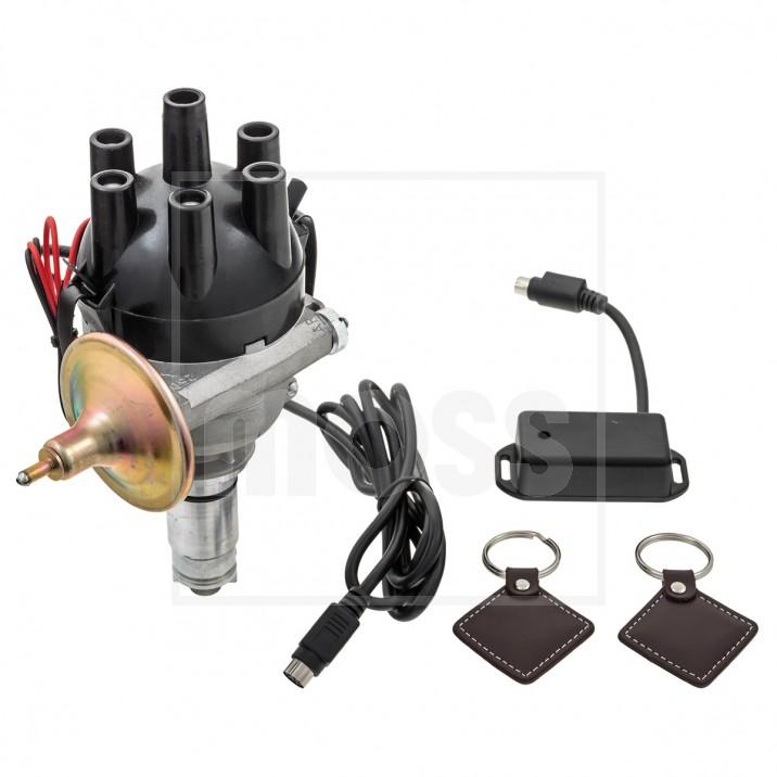 CSI-Ignition Distributor & Immobiliser, Optimised, 25D6, negative earth, electronic tacho