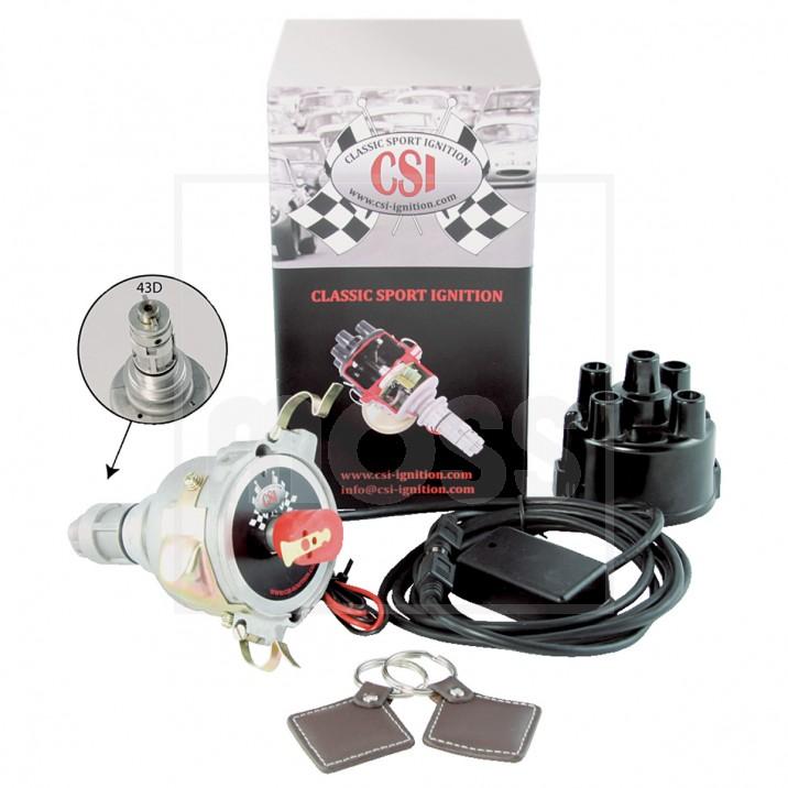 CSI-Ignition Distributor & Immobiliser, Tuned, 43D4, negative earth