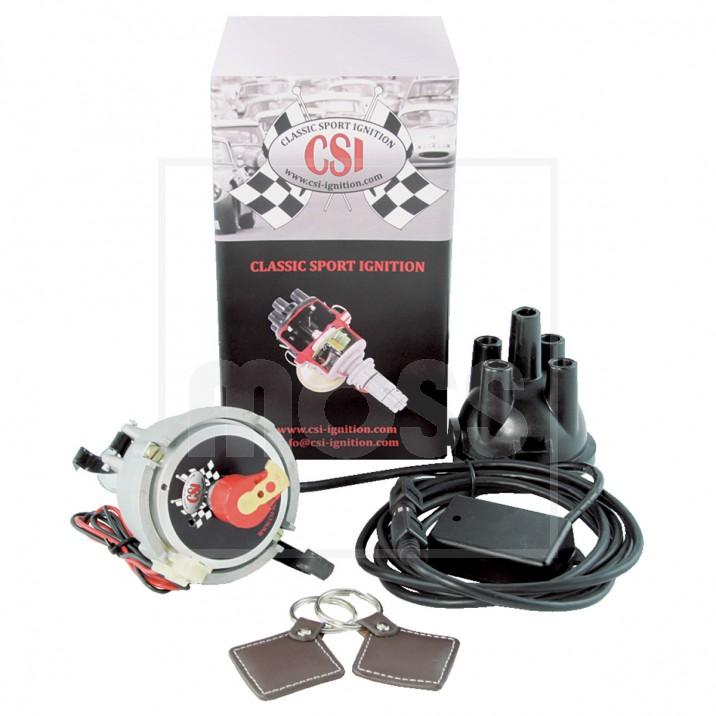 CSI-Ignition Distributor & Immobiliser, Optimised, 23D4, positive earth
