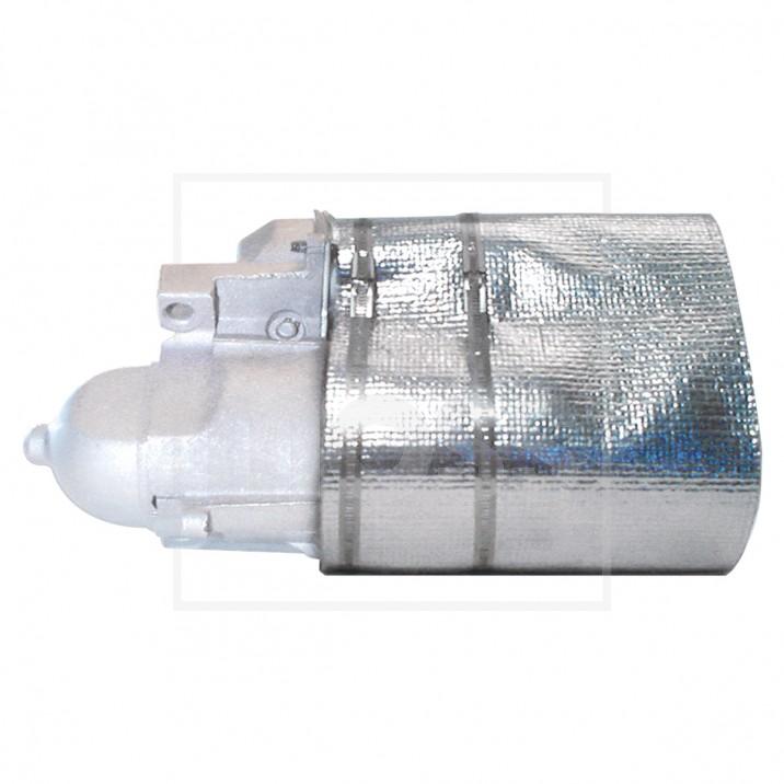 Heat Shield, starter motor cover