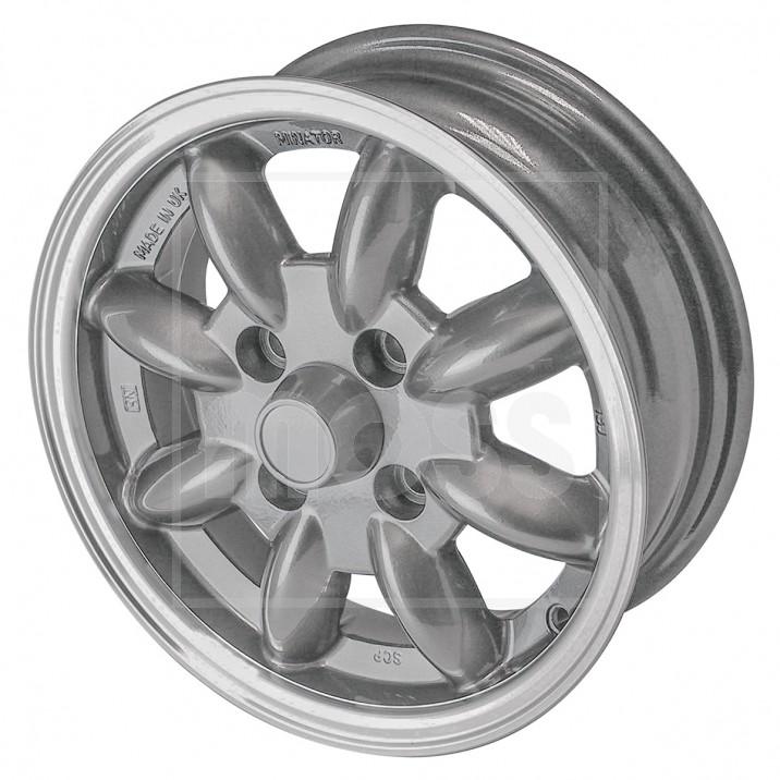 Minator 8 Spoke Alloy Wheels - Sprite & Midget