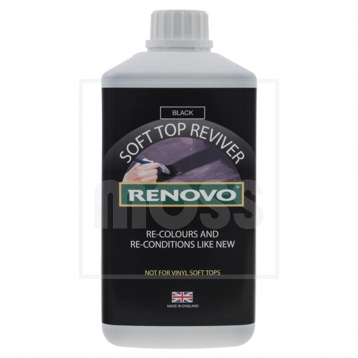 Renovo Soft Top Reviver, Black, 1 litre