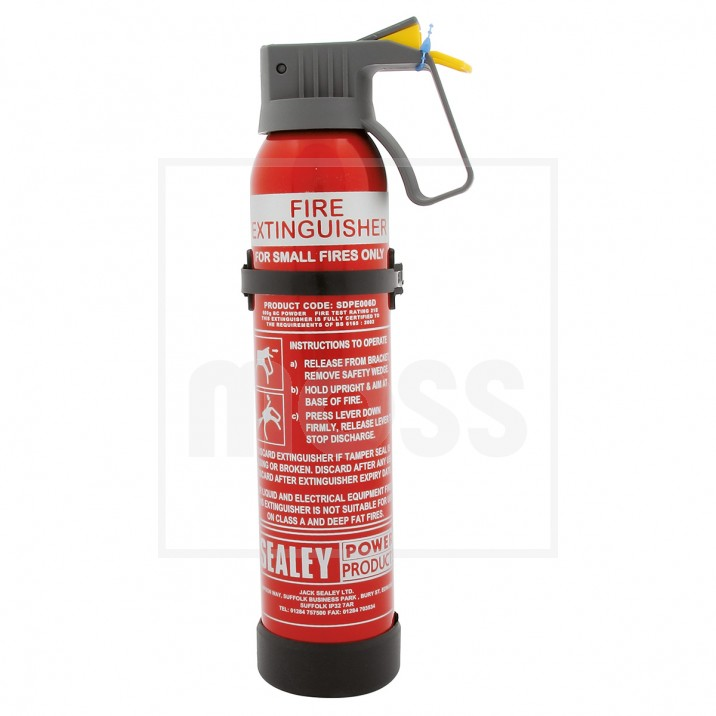 Fire Extinguisher, dry powder, 0.6kg