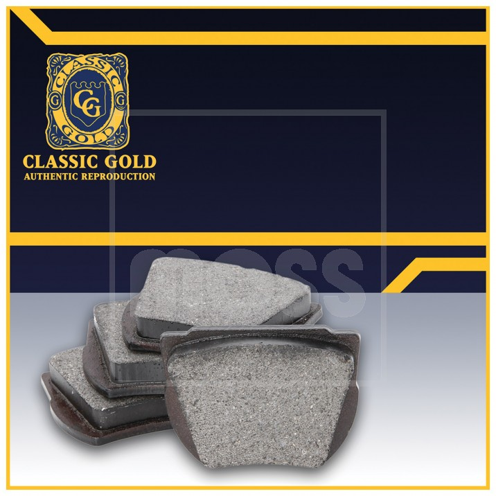 Brake Pads by Classic Gold