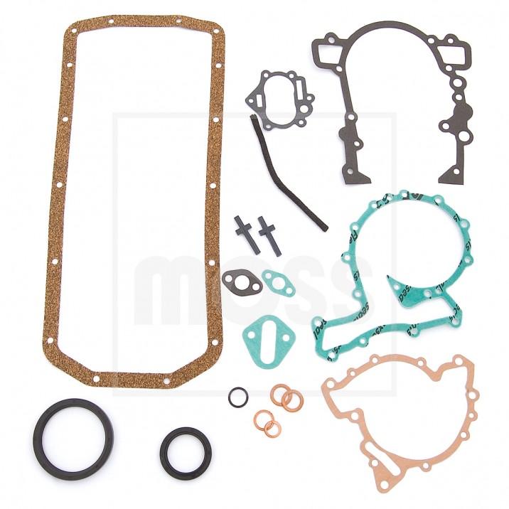 Gasket Set, bottom end, sump BGT V8