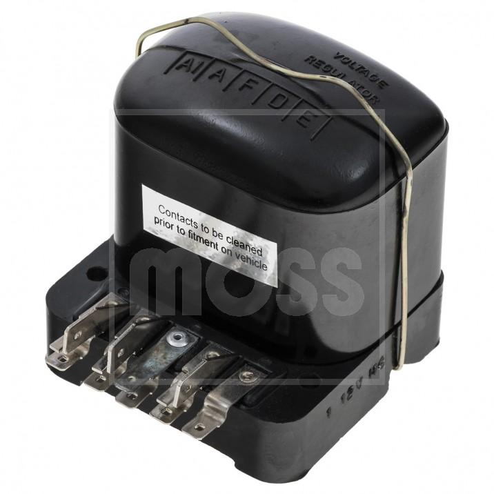 Control Box, dummy voltage regulator, lucar, 22 amp