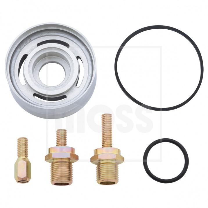 Spin-On Oil Filter Conversions - Sprite & Midget