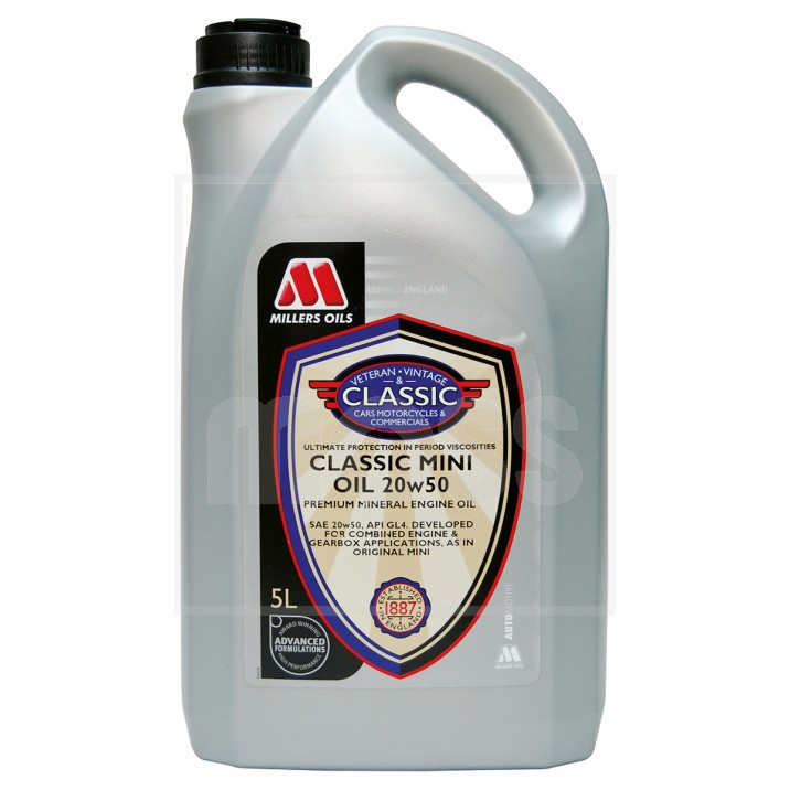 Millers Trans M 20w 50 Engine Oil