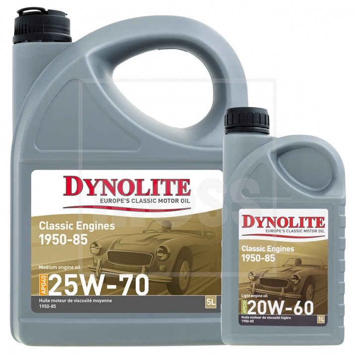 Dynolite classic engine oils for Motor oil for older cars