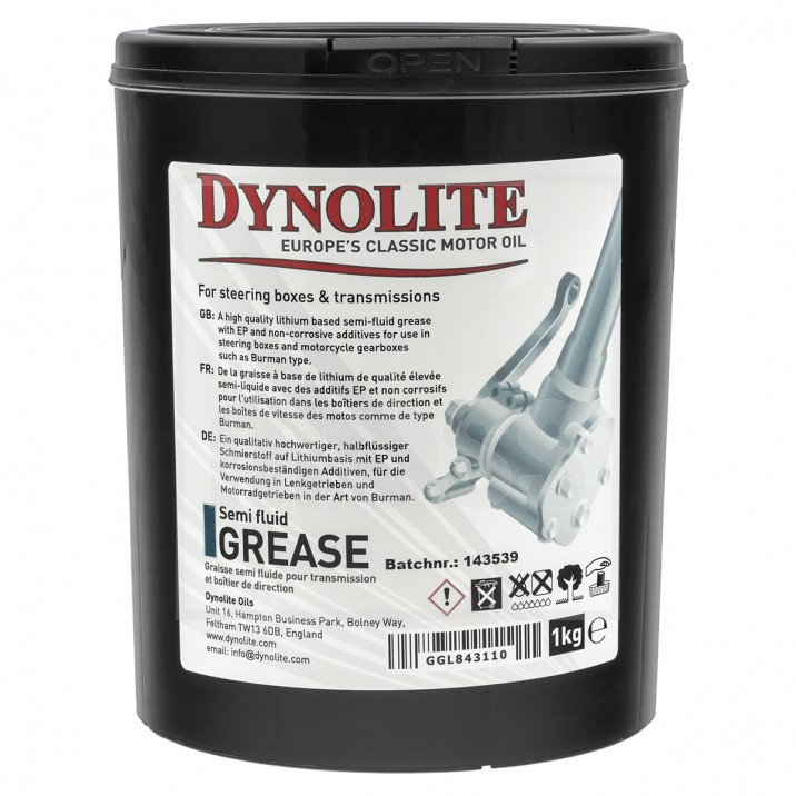 Dynolite Semi-Fluid Grease, 1kg