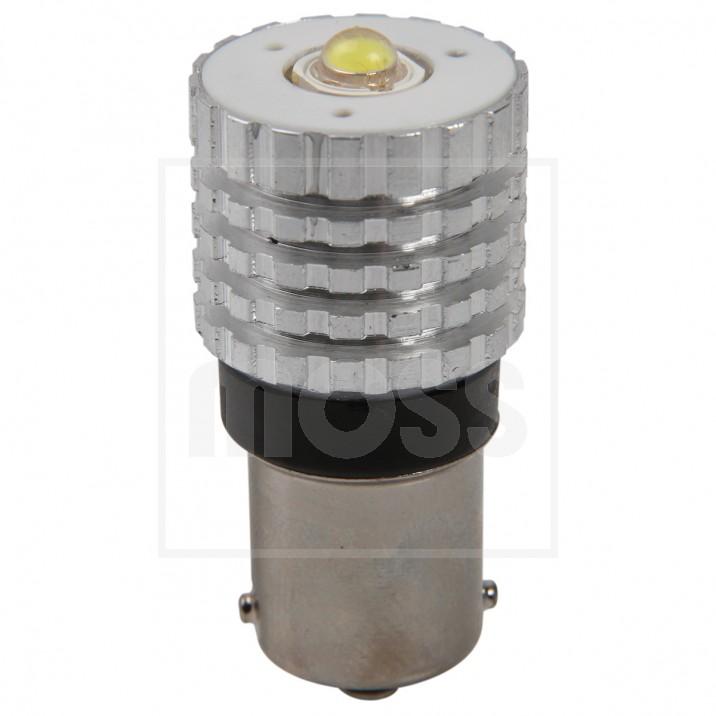 LED Bulb, BA15s bayonet, 12V, 21W, white