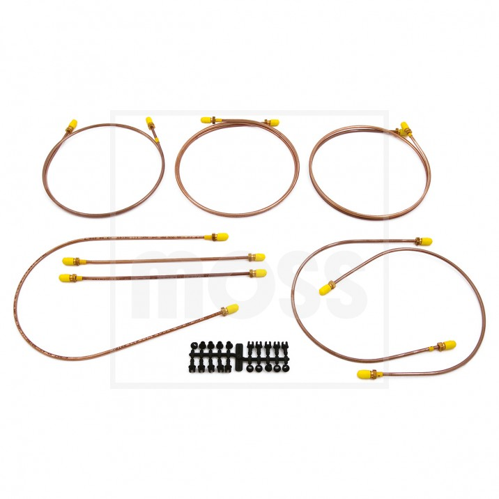 Copper Brake Pipe Sets